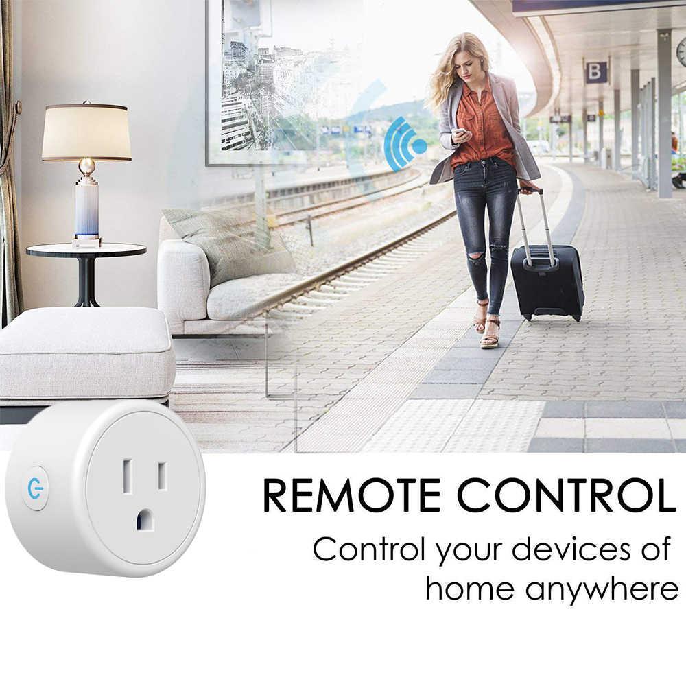 Profesjonalny bezprzewodowy inteligentne gniazdo inteligentny telefon domowy App zdalne sterowanie głosem gniazdo zasilania WiFi inteligentny Timer wtyczka wtyczka usa