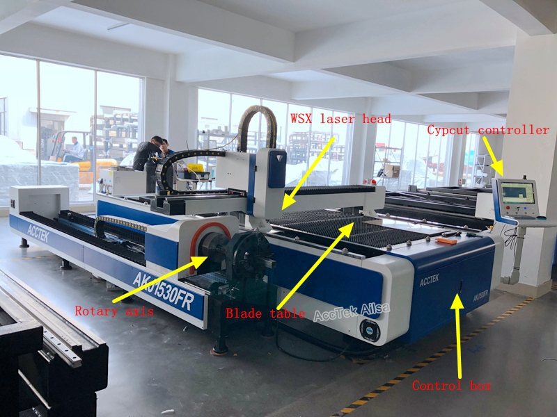 fiber laser cutting machine (20)