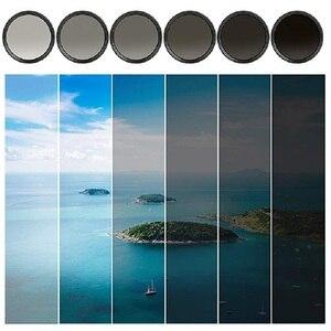 Image 3 - K & F CONCEPT réglable ND2 à ND400 ND filtre dobjectif 37MM 55MM 58MM 62MM 67MM 72MM 77MM 95MM mince Fader densité neutre Variable