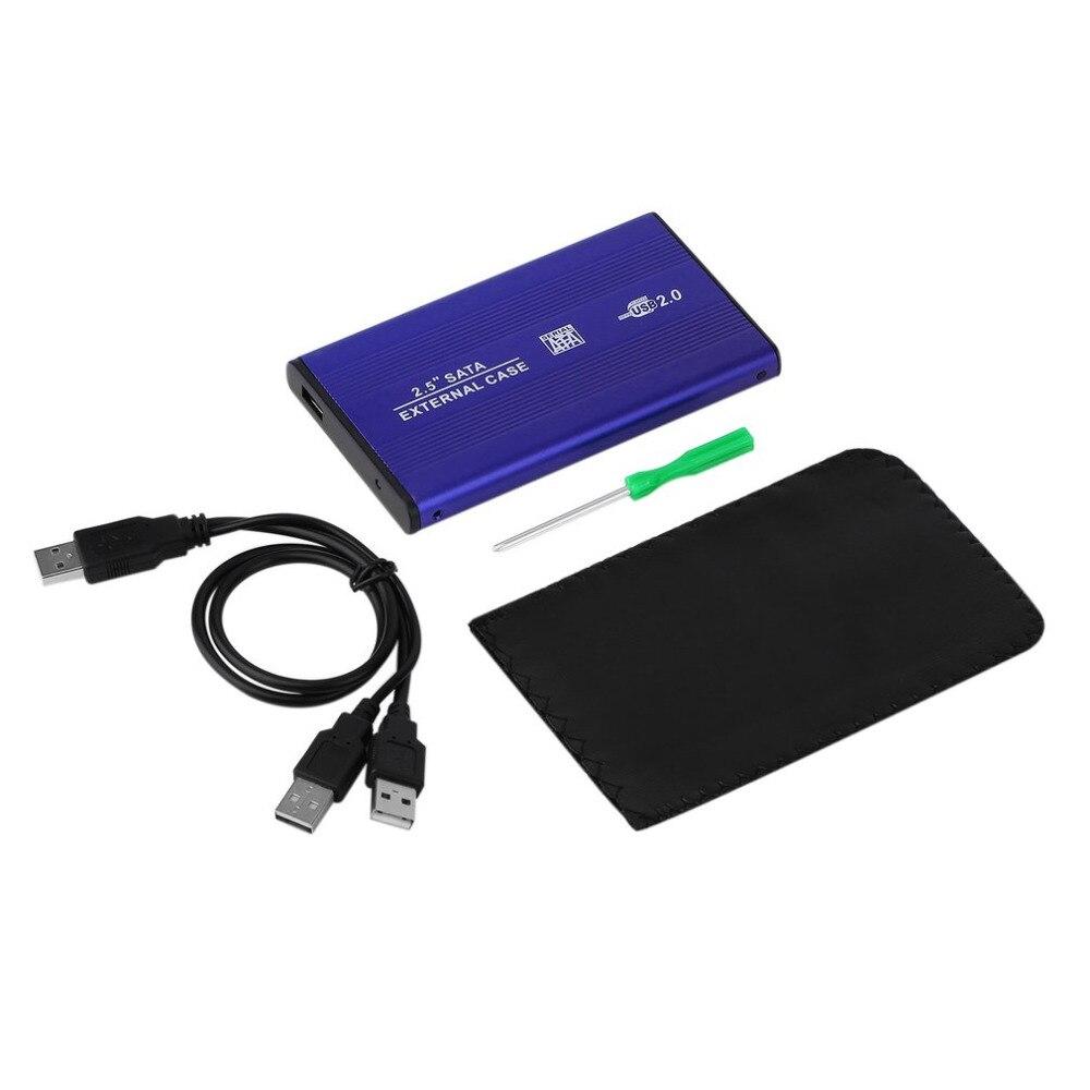 Лидер продаж эргономичный Дизайн синий USB SATA Рука диск корпус Новое поступление Бесплатная доставка жесткий диск комплект