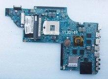 Freies Verschiffen 665341-001 Laptop Motherboard Für HP Pavilion DV6 DV6T HD6770 2 GB Notebook PC Getestet OK