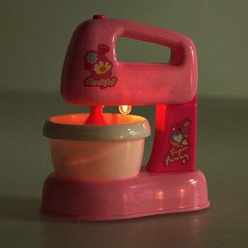 Mezclador eléctrico de cocina para niños y niñas, DIY, color rosa, emulador,...
