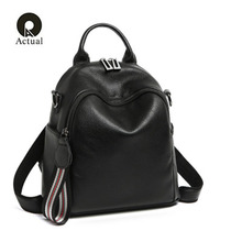 Head leather shoulder bag women 2019 new European and American style backpack women shoulder leather bag