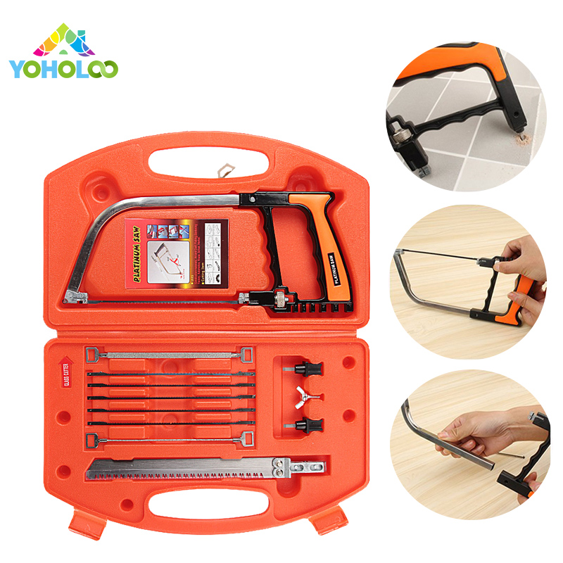 Multifunctional Handsaw 11 in 1 Magic Saw Woodworking Metal Cutter Serrote Universal Set Mini Tile Saw Multifunction Magic Saw authentic original tajima saw pul265 kch 3 times fast panel saw 265mm woodworking handsaw handsaw