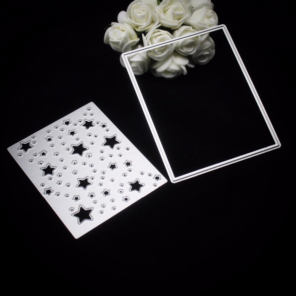 Embossing Folder Scrapbooking Dies Stencil Cutting Mold Template Silver