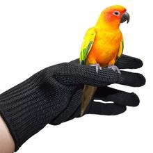 Дрессировочные перчатки против укуса Птицы Маленькие рабочие перчатки животных жевательные защитные перчатки для попугая белки Ёж хомяк