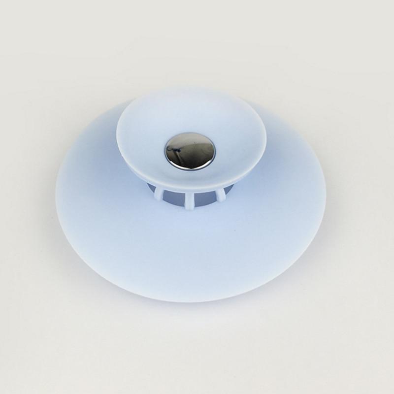 Shower Drain Stopper Floor Rubber Circle Silicone Plug For Bathtub Bathroom Leakage-proof Pvc Sink Basin
