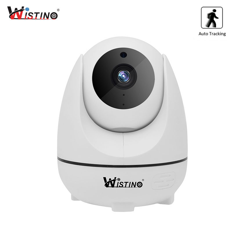Wistino CCTV 1080P Security Camera Wireless Auto Tracking IP Camera Wifi Alarm Baby Monitor Surveillance Camera PTZ Night Vision wistino cctv 1080p ip camera wifi baby monitor wireless panoramic vr camera security baby video monitor audio ptz night vision