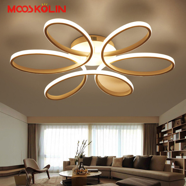 2017 New Modern LED Chandeliers For Living Dining Room Bedroom Fixture Chandelier Ceiling lamp Dimming home lighting luminarias