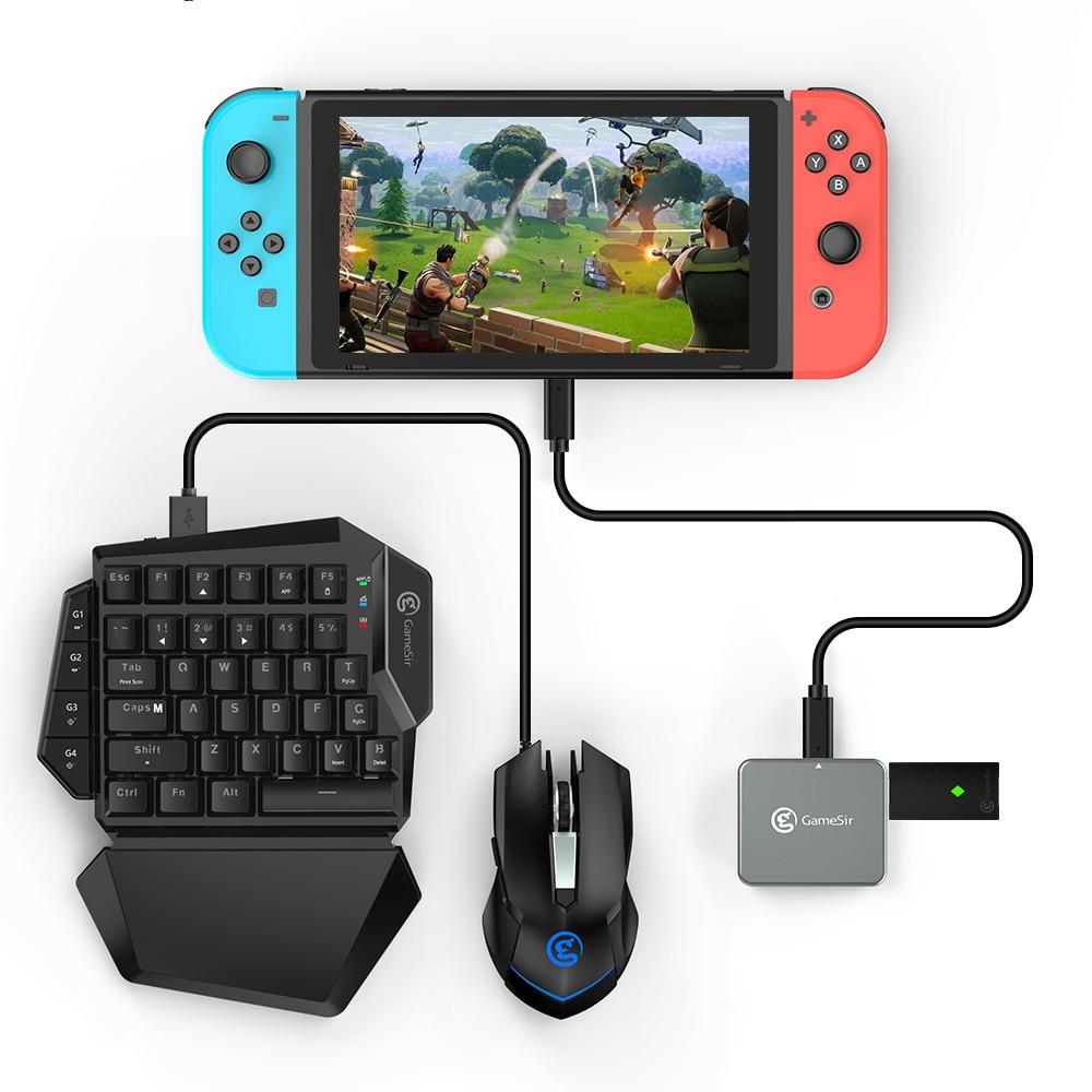 GameSir GTV130 Mini-câble adaptateur d'affichage HDMI Mobile 5 ports pour Nintendo Switch/HUAWEI/Samsung/Microsoft Lumia/écrou Smartisan