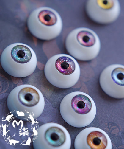 8mm Metal Galaxy Dreamy color Eyes 5 Color For BJD Eyes Outfit