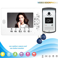 chuangsafe - -V70A-ID 1V1 XSL 7'' Rfid ID Unlocking Video Door Phone Intercom System Smart Home Door phone