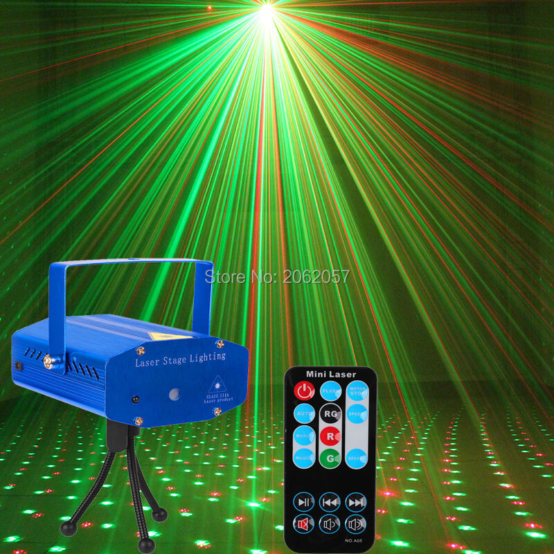 High quality good price new Mini aluminium RG remote laser light DJ Disco stage projector for sale with Christmas party show стоимость