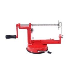 Ziemniak Twist krajalnica akcesoria kuchenne ze stali nierdzewnej Spiral Chip krajalnica ręczna maszyna do cięcia czerwony Metal|Elektryczne obieraczki|AGD -