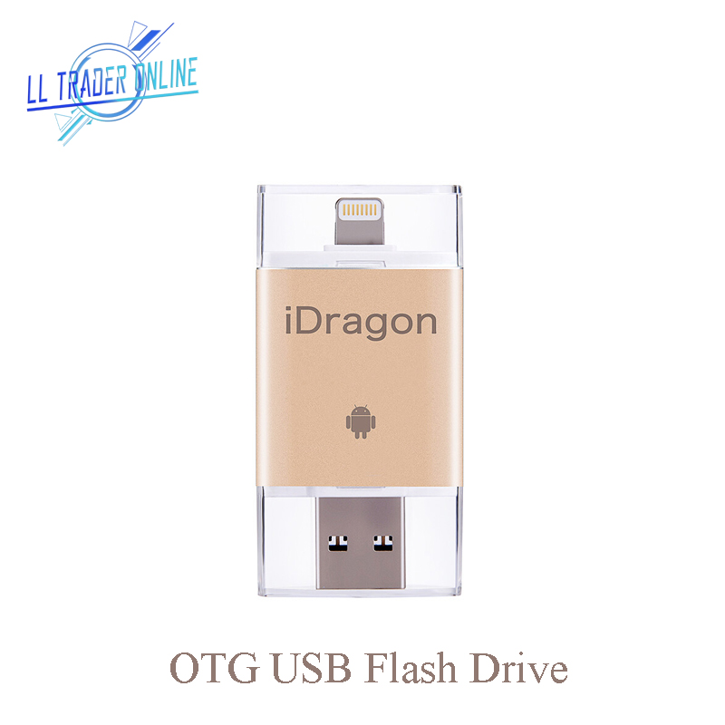 LL TRADER 5Pcs/Lot Pen Drive 64 32GB 16GB USB Flash Drive OTG USB ...
