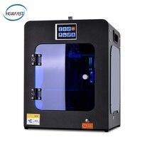 HUAFAST 3d Printer HS Mini impressora 3d print affordable machine MK10 extruder reprap prusa i3 mk8 hotend student diy resume i4