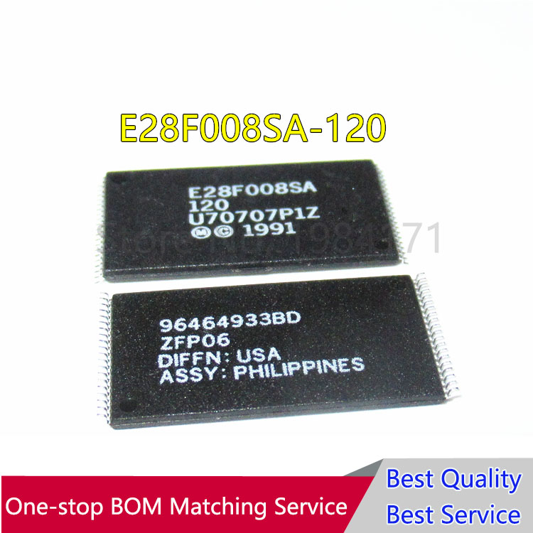 50Pcs E28F008SA 120 New