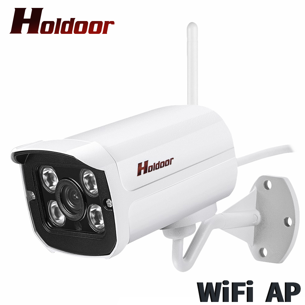 Holdoor 1080P WiFi IPC Camera Wi-Fi AP Network CCTV Outdoor Wireless WebCam P2P IMX323 Night Vision Motion Alert RTMP Live Video