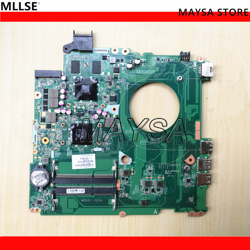 762531-501 762531-001 DAY22AMB6E0 Y22A Main board Fit For HP 15-p series notebook pc Laptop motherboard 734304 501 734304 001 for hp zbook 15 g1 series notebook pc system motherboard 734304 601 tested working