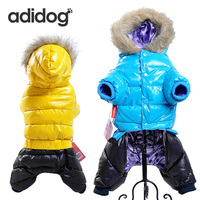 2016 Winter Pet Dog Clothes For Small Medium Dog Good Pet Clothing Coat Hoodies VestTwo Side