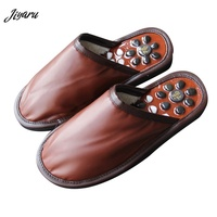 New Styles Men Shoes Slippers Acupoint Massage Slippers Flip Flops Sandal Accupressure Foot Slippers Men for Bathroom Home