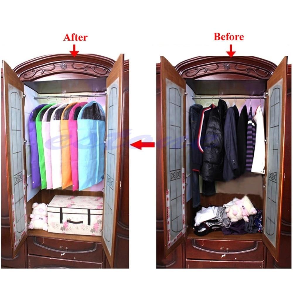 1pc ახალი ტანსაცმელი - სივრცის შენახვისა და ორგანიზების - ფოტო 6