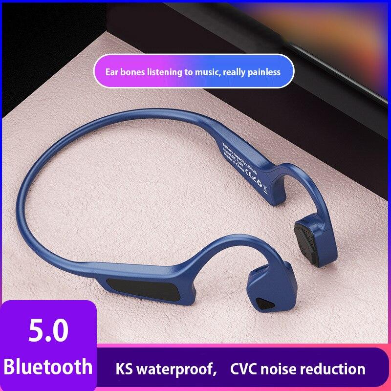 Conduzione ossea Bluetooth 5.0 Cuffie Per Huawei Compagno di 20 P20 Lite 20 Pro 20X P30 Auricolare Senza Fili Del Telefono Mobile Sprot auricolare