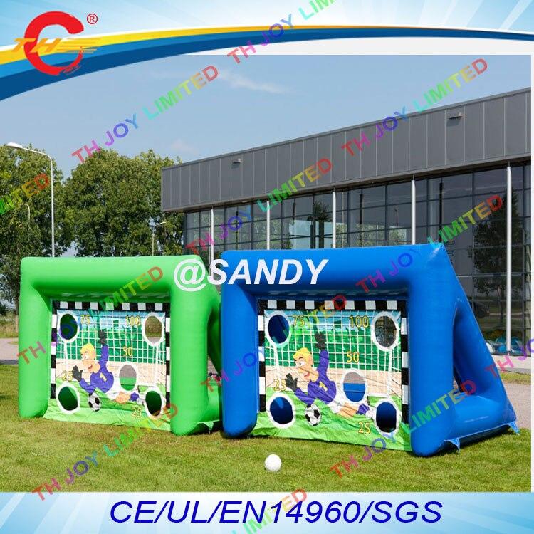 Aliexpress Com Buy G319 Soccer Shooting Custom: Free Air Ship To Door,4*2*2mH Rental Inflatable Football