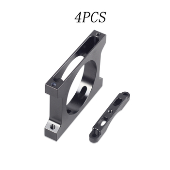 4PCS 30mm 40mm Carbon Fiber Tube Clamp Holder Fixed Base Arm Pipe Clip Parts for RC Plant Agriculture UAV Drone Rack