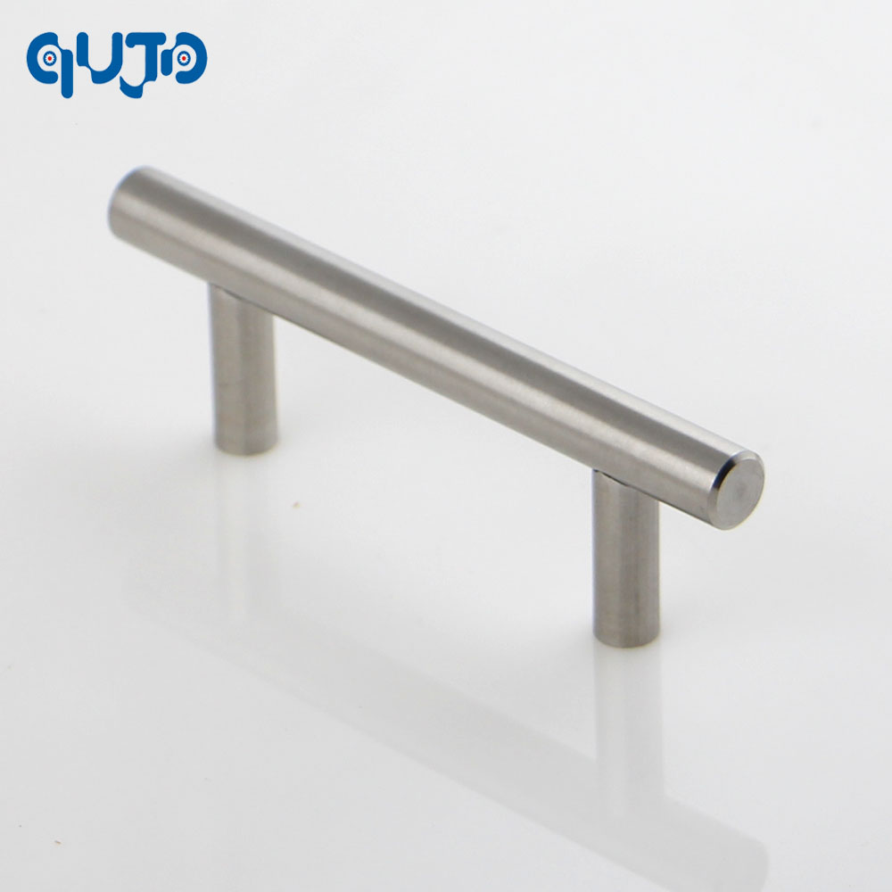 hollow t bar handle kitchen cupboard door handles 64mm center to center tbar knob