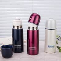 1PCS Fashion Lovely Bullet Vacuum Cup Quality Goods 304 Stainless Steel Male Ma'am Children Small And Exquisite Cup You