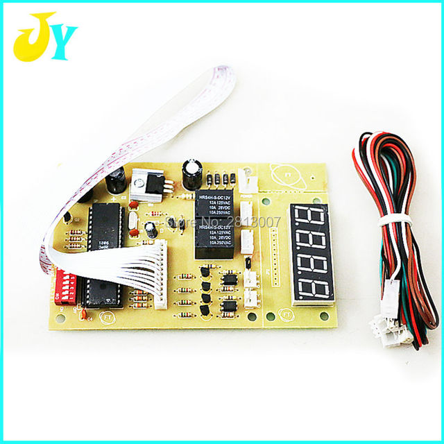 4 digits 12V Time Control Timer Board With Wire harness Power Supply for coin acceptor selector_640x640 4 digits 12v time control timer board with wire harness power 12V Hydraulic Pump at gsmx.co