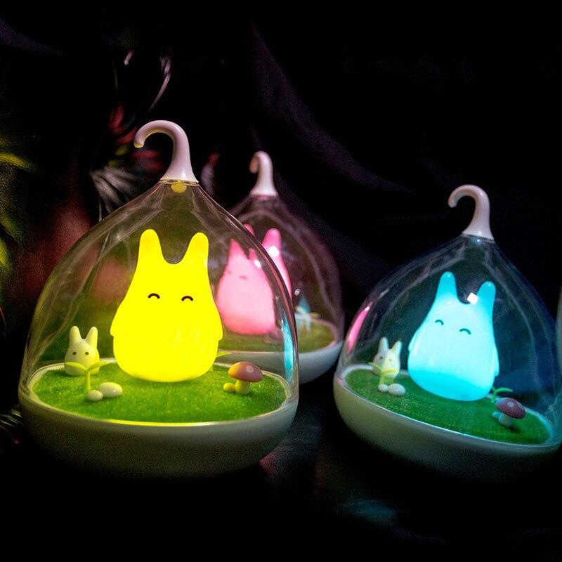 Luzes da Noite para crianças Bedside Light : Led Bedroom Lights