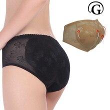 PRAYGER Women New Sexy Carry Buttock Underwear Lady Abundant Buttocks False Ass Non trace removable Pads