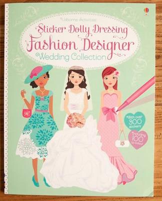 1 Pcs The New Four Seasons Fashion Designer Wedding Colloction Princess Dress Sticker Books Girls Gifts For Children