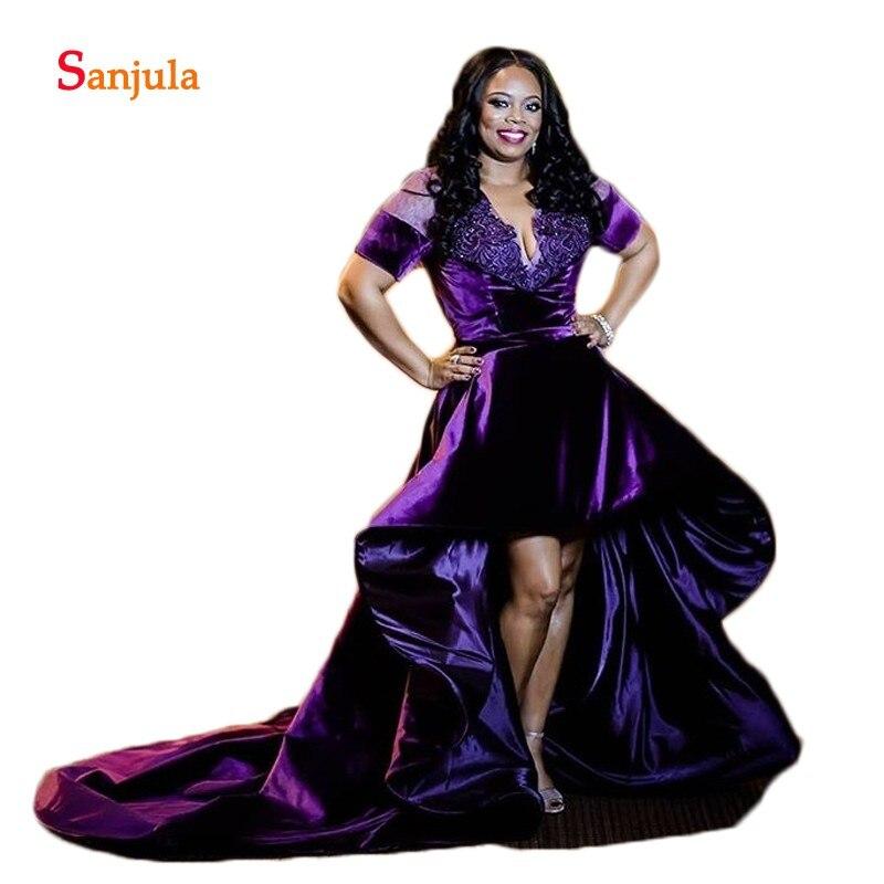 Robes de soirée en Satin rose sirène formelle Scoop femmes africaines robes de soirée simples dos nu avec Train abiye gece elbisesi D690