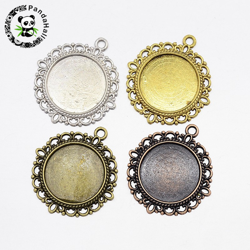 Cheap Price Pandahall 10pcs 20mm Stainless Steel Metal Jewelry Findings Pendant Cabochon Settings Flat Round Back To Search Resultsjewelry & Accessories