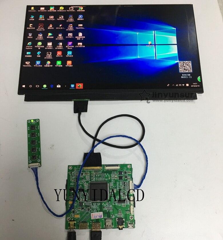 12.5 pouces 3840*2160 4 K IPS LCD écran mince LCM affichage avec HDMI eDP contrôleur carte pilote carte câble pour imprimante 3D