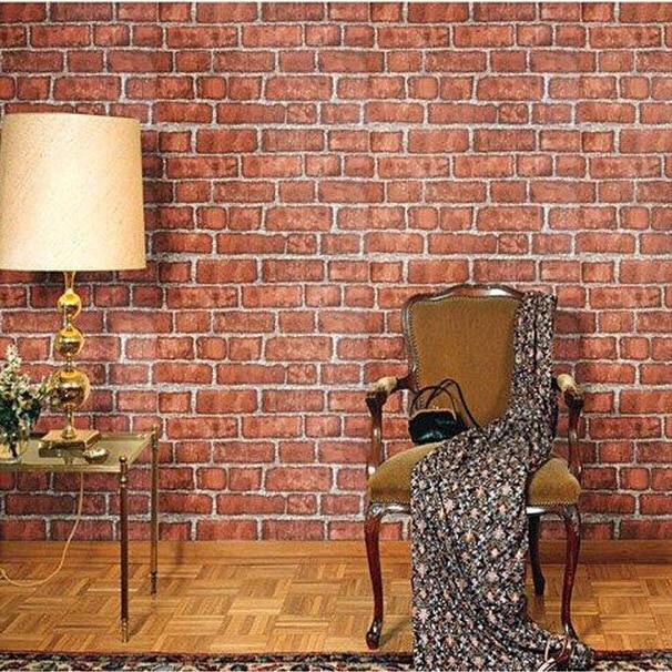 red brick self adhesive wallpaper for bathroom papel de parede adesivo beibehang trees year full of water porcelain bathroom kitchen floor painting waterproof self adhesive papel de parede wallpaper