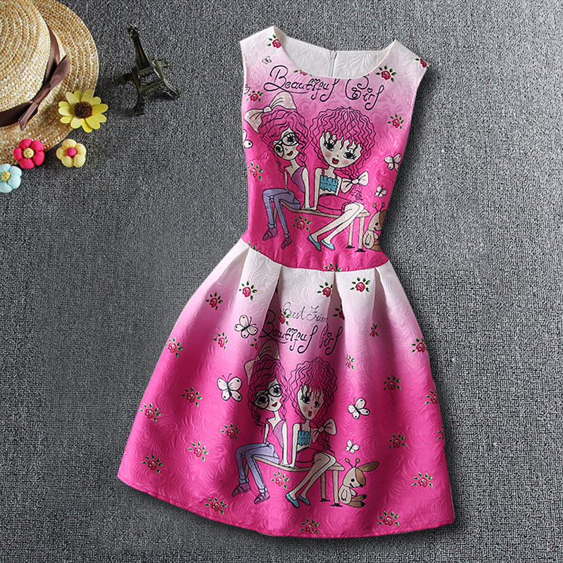 2017 New Elsa Girl Dress Children Nightgowns Sleep shirts Princess Pajamas Elza Nightdress For Girls Summer Children Dresees