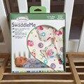 Envío gratis Nuevo Verano SwaddleMe recién nacido swaddle 100% algodón súper suave juego para 0-3 meses del bebé saco de dormir tamaño 50X73X39 cm
