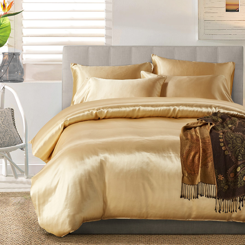 online get cheap modern luxury bedding aliexpresscom  alibaba group - wliarleo silkpolyester bedding set modern solid luxury bedding settwinqueenking