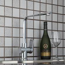 360 вращения гибкие носик хром латунь весной Кухня раковина кран 92316 умывальник водопроводной воды судно туалете краны, смеситель