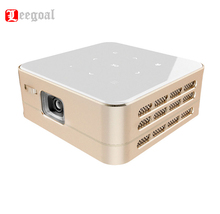 Leegoal P96 Mini LED Projector WIFI Bluetooth Portable Wireless HDMI HD 100 Lumen Pico Home Theater Best Video Projector Android
