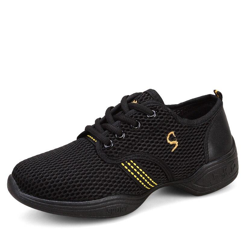 Breathable Women Dance Sneakers Brand Ladies Aerobics Shoes Zapatos Danza Platform Dancing Sports Ballroom Dance Shoes цена