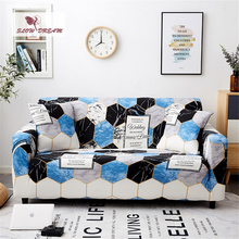 Slowdream Football Printing Sofa Cover Double Decor Single Home Living Room Removable Stretch Elastic Band Couch Cover Slipcover slowdream nordic style sofa cover elastic band couch cover stretch furniture single chair double love seat decor home slipcover