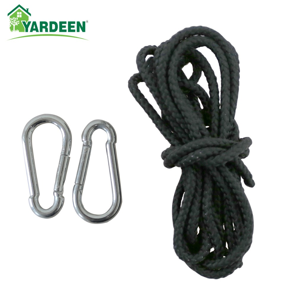 Hammock Accessories for Portable Parachute With Strong Rope 2m*2 Use Strong Stainless Steel Buckle цена