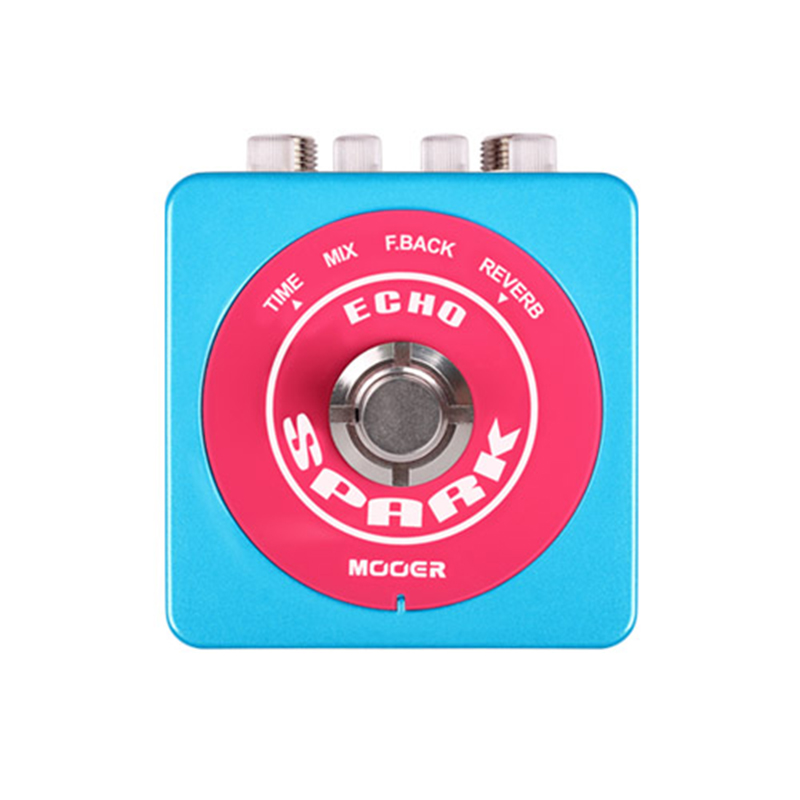 Mooer Spark Echo Delay Pedal Electric Guitar Effect pedal SDL2 mooer ana echo analog delay pedal