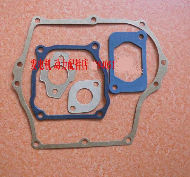 FULL GASKET SET 6PCS PACK  FOR   EH12 2D EH12-2D ENGINE FREE SHIPPING CYLINDER GASKET RAMMER TAMPER SUBARU REPLACEMENT PARTS jiangdong engine parts for tractor the set of fuel pump repair kit for engine jd495