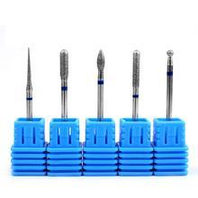 2017 1pcs Hot Ceramic Nail Drill Bit Pedicure Machine Remove Nail Calluses Bit Tools ElectricDrill Nail Tools